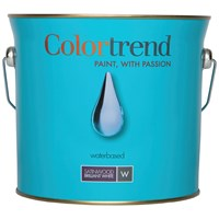 Colortrend  Satinwood Pure Brilliant White Paint - 3 Litre