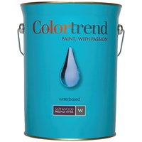 Colortrend  Satinwood Pure Brilliant White Paint - 5 Litre