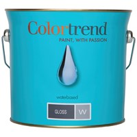 Colortrend  Gloss Pure Brilliant White Paint - 3 Litre