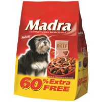 Madra  Beef & Vegetables Dog Food - 2.5kg + 60% Extra Free