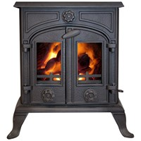 Green Stoves  6kW Non Boiler Stove - Matt Black