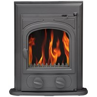 Green Stoves  5kW Insert Stove - Matt Black