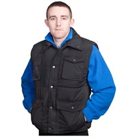 Bodyworks  Oxen Body Warmer - Black