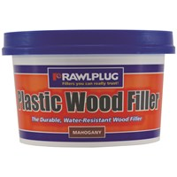 Rawlplug  Plastic Wood Filler Mahogany - 250ml