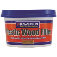 Rawlplug  Plastic Wood Filler Teak - 250ml