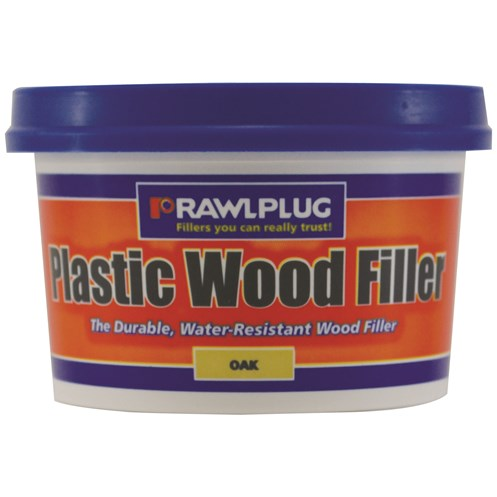 Rawlplug  Plastic Wood Filler Oak - 250ml