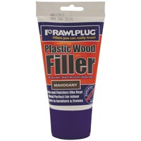 Rawlplug  Plastic Wood Filler Mahogany - 100ml