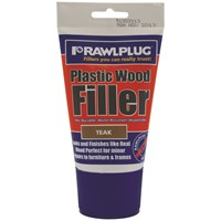 Rawlplug  Plastic Wood Filler Teak - 100ml