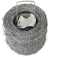BAT Metalwork  High Tensile Roll Barded Wire - 200m Roll
