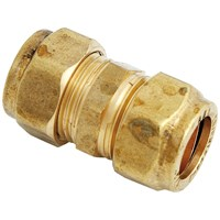 UEL  310 Compression Straight Brass Pipe Fitting