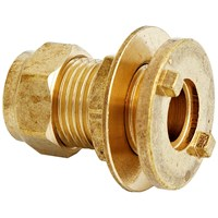 UEL  350 Compression Tank Connector Brass Pipe Fitting - 3/4in