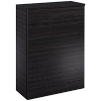 Sonas  Porto Back to Wall Toilet Unit - Hacienda Black
