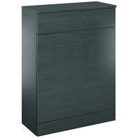Sonas  Porto Back to Wall Toilet Unit - Grey