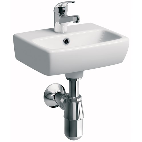 Sonas Twyford Energy E100 Square Cloakroom Basin - 360mm