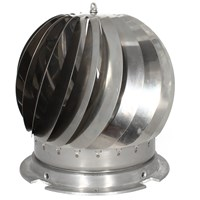 De Vielle  Chimney Spinner Cowl - Stainless Steel