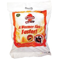 Flamers  Smokeless Wood Log Nuggets - 10kg