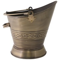 De Vielle  Heritage Celtic Collection Waterloo Bucket Ant Brass Finish