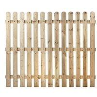Independent Fencing  Premier Round Top Picket Fence Panel - 1500 x 1800mm