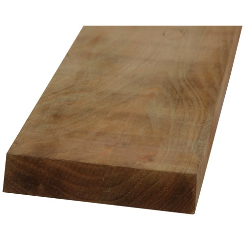 SNR  Square Edged Treated Timber - 125 x 44mm
