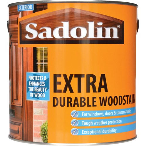 Sadolin Woodstain Extra Durable Colours Woodstain - 2.5 Litre