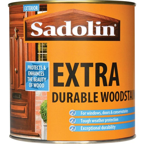 Sadolin Woodstain Extra Durable Colours Woodstain - 1 Litre