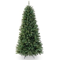 National Tree Company  Rocky Ridge Slim Pine Christmas Tree - 9ft