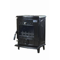 Blacksmith Anvil 6kW Non Boiler Stove - Black Enamel