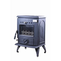 Blacksmith Anvil 6kW DHW Boiler Stove - Matt Black
